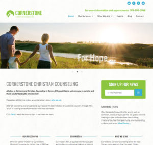 Cornerstone Redesign